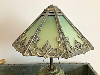 Antique Victorian Slag Glass Lamp Shade