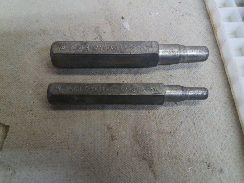 2 IMPERIAL EASTMAN 93-S  SWAGGING TOOLS 3/8, AND 1/2
