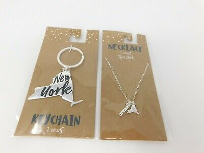 City Necklaces (New York city necklace and Key chain)