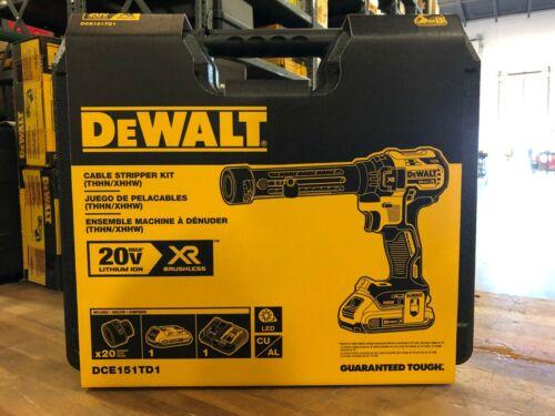 DeWALT DCE151TD1 - 20V MAX* XR® CORDLESS CABLE STRIPPER KIT
