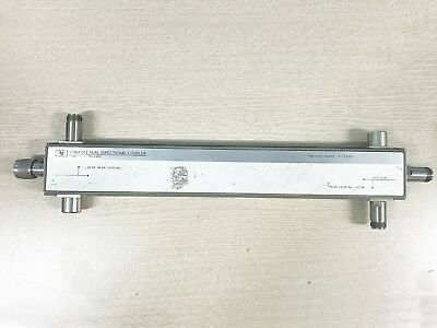 Agilent Hp 778d-012 Dual Directional Coupler 0.1-2.0 Ghz