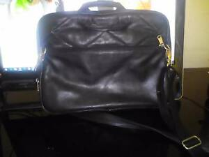 Genuine Leather Laptop Bag Stafford Heights Brisbane North West Preview