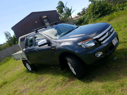 2015 (Jan) Ford Ranger 4x4 duel cab extended tray