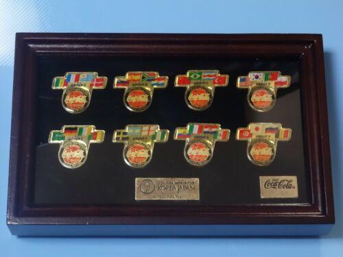 Coca Cola FIFA World Cup 2002 Korea Japan PIN Set Limited Edition