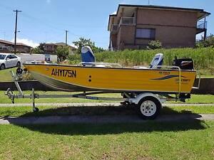 4.2m 14ft Aluminium fishing boat 30hp mercury motor Warrawong Wollongong Area Preview