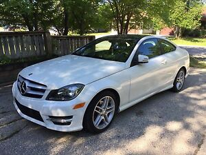 Mercedes C250 Coupe AMG & Luxury Package