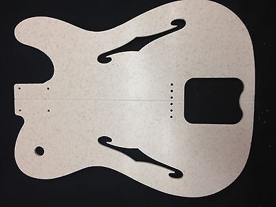Electric guitar templates ebay for Guitar f hole template