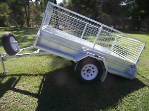 A1 Quality 8*5 Brand New Tilt Trailers Complete package Cage and Spare Wauchope Port Macquarie City Preview