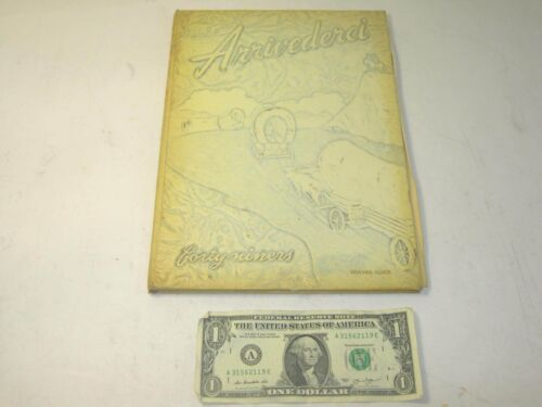 Vintage 1949 Aberdeen High School Yearbook - The Forty Niners - Arrivederci