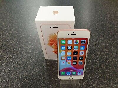(pa2) iPhone 6S 32GB Mobile Phone - O2 - Rose Gold - Boxed