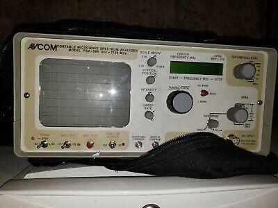 Avcom Psa-39b L-band Portable Spectrum Analyzer