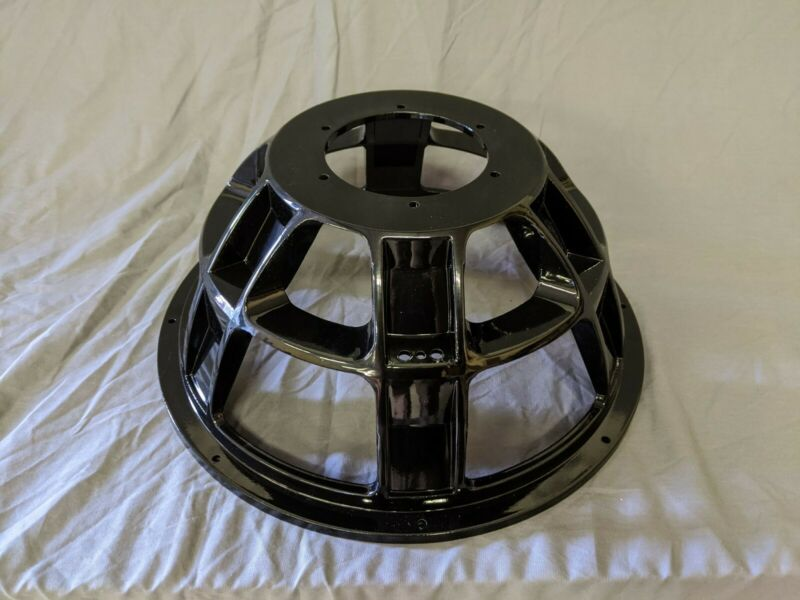 "15"" TI Subwoofer Frame basket, Gloss Black"