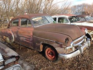 1950 and 1952 Chevys $500 each