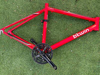 Btwin triban 3 Road Bike Frame & Crank