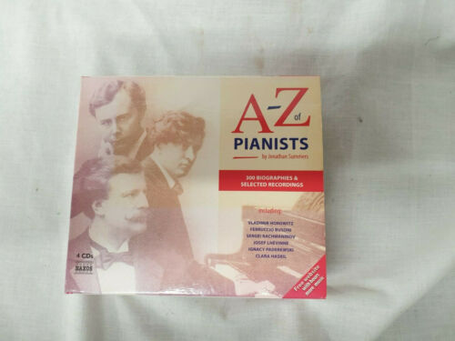 THE A - Z OF PIANISTS - 4 CD SET BOX SET + 850 PAGE BOOKLET #544