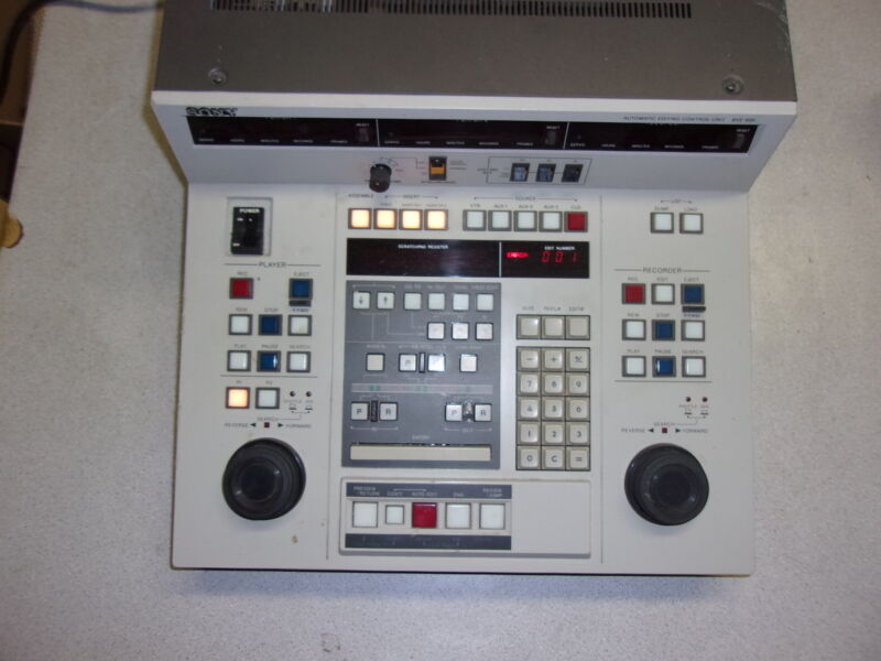 Sony BVE-800 Automatic Editing Control Unit *FREE SHIPPING*