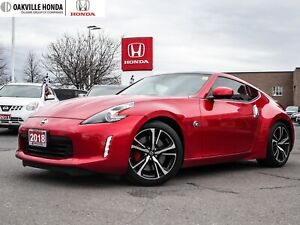 2018 Nissan 370Z Sport Coupe at 1-Owner|Low KMS|Bose Stero|