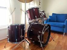 DXP Pioneer Series 5-piece Drum Kit - Wine Red Blacktown Blacktown Area Preview