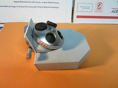 Microscope Part Zeiss Germany Nosepiece Bin16