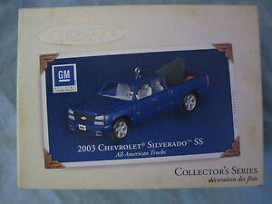 2005 Hallmark 2003 CHEVROLET SILVERADO SS Ornament ALL-AMERICAN TRUCKS NIB