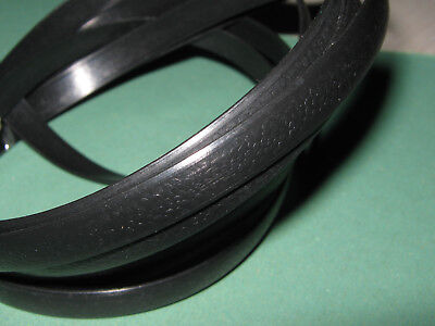 1 meter Black flat synthetic rattan weaving material plastic rattan for knit and
