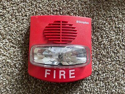 Simplex 4903-9417 Truealert Fire Alarm Smartsync Hornstrobe
