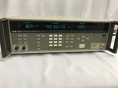 Fluke 6062a Synthesized Rf Signal Generator Freq. 100 Khz-2100 Mhz Working