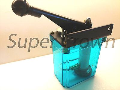 Bijur-style Lubrication Unit1 Liter La-8l Oil Pump 8cc One Shotleft Hand Cnc