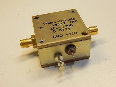 Mini-circuits 15542 Zfl-1000 Coaxial Amplifier