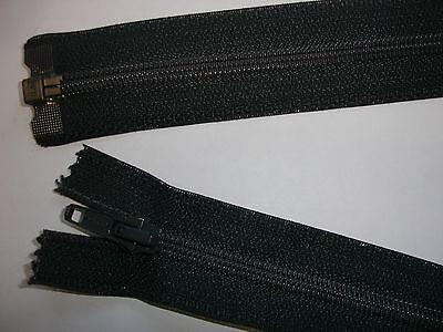 RV 308 Reißverschluß opti dunkelgrau 64cm , teilbar 1 Stück
