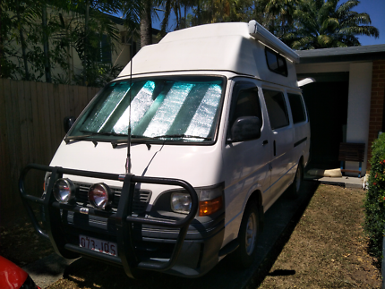 2004 Toyota Hiace Campervan Auto Cairns Cairns City Preview
