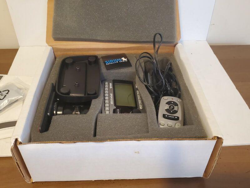 Sirius Sportster SP-R1 Satellite Radio Receiver with Complete Car Kit & Remote