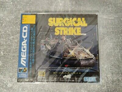 SURGICAL STRIKE SEGA MEGA CD GAME NEW FACTORY SEALED - Japanese version