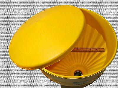 Waste Oil Heater Part Heavy-duty Tank Top Funnel With Lid And Screen Large Dia.