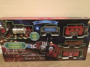 North pole junction Christmas train - Blue hat toy company