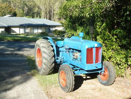 Fordson Major Diesel Tractor