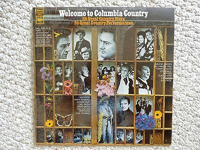 Welcome to Columbia Country LP  (#2325) CWS S, 1968