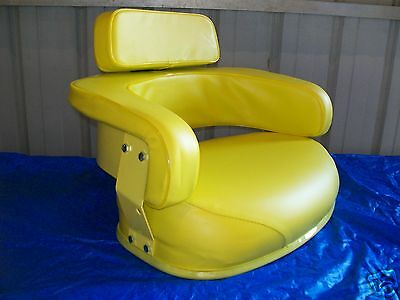 3 Piece Yellow Seat Assembly John Deere 3010302040204320502060307520 Ex