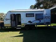 2016 Crusader Musketeer Semi off-road Caravan 19ft 6inch Maryborough Fraser Coast Preview