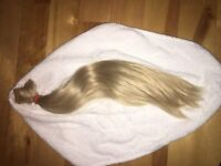 Secret Layers Blonde hair extensions