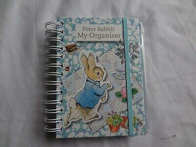 New Peter Rabbit Organizer Planner Address Book Notebook 2019 Beatrix Potter