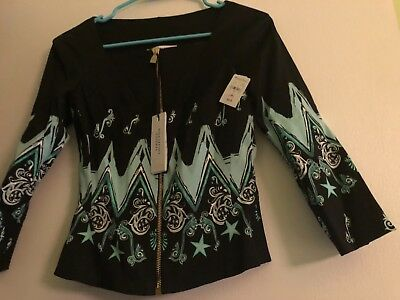 Versace Designer Jacket NWT Neiman Marcus Beautiful Runway Classic Look  38