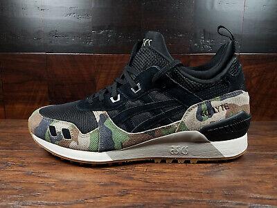 Asics GEL-LYTE MT (Black / Camo) Sneaker Boot [H8E2L-9090] Mens 8-12