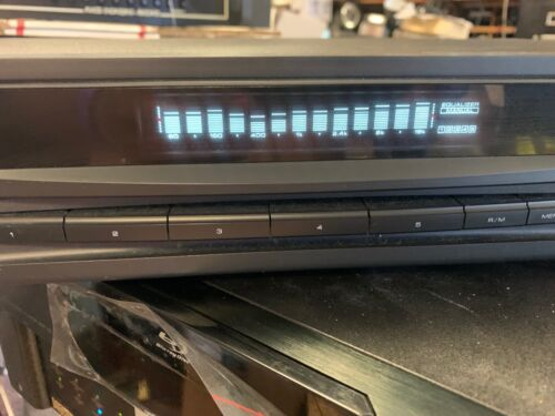 Kenwood KE-894 Stereo Graphic Equalizer with Spectrum Analyzer Tested Working