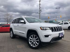 2017 Jeep Grand Cherokee LIMITED**HEATED FRONT/REAR SEATS**REMOT