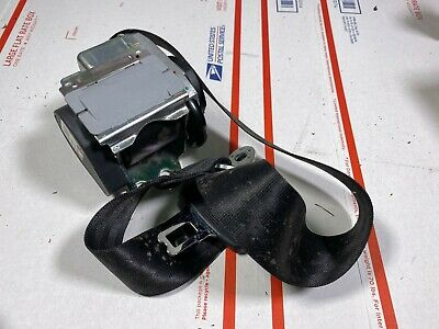 06-12 AUDI A6 S6 REAR CENTER SEAT BELT 4F0857807R
