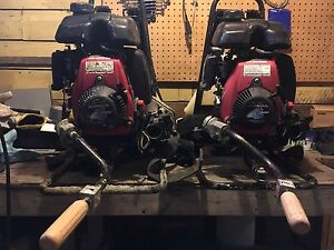 2 Honda GXH50 Cement vibration machines
