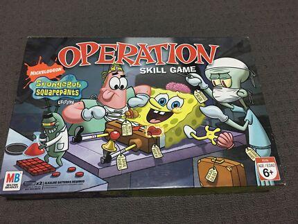 Spongebob operation game