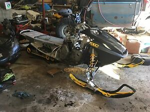 S chassis skidoo and rev chassis parts