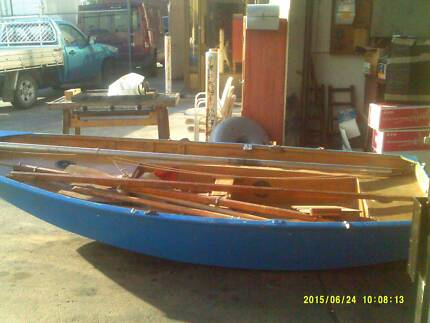 MIRROR DINGHY/SAIL BOAT WITH SAILS AND MAST BOOM Dandenong South Greater Dandenong Preview